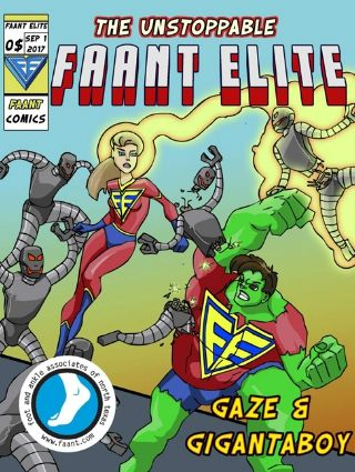 The Unstoppable FAANT Elite - A Free Pediatric Digital Coloring Book!